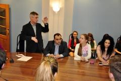 Встреча со студенческим активом НовГУ, 01.04.2016