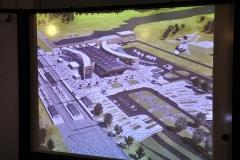 Проект объединенного пассажирского терминала, разработанный молодым архитектором Алиной Малышевой