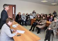 3 февраля 2012 года. Встреча с коллективом ОАО «Угловский известковый комбинат».