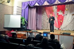 3.02.2012, г.  Окуловка,  клуб «Железнодорожник». Подведение итогов благотворительной акции «Рождественский подарок»,