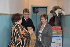 18 января 2012 года, Окуловский район. Подарки д/с д. Боровенка