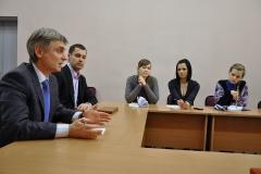 20 февраля 2012 года. Встреча со студентами.